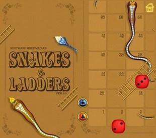 بازی مار و پله Snakes and Ladders