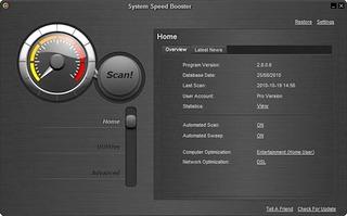 افزایش سرعت کامپیوتر System Speed Booster