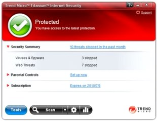امنیتی Trend Micro Titanium Internet Security 2012