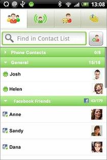 مسنجر آندروید آندروئید Android eBuddy Messenger