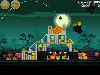 پرندگان خشمگین game Angry Birds Seasons