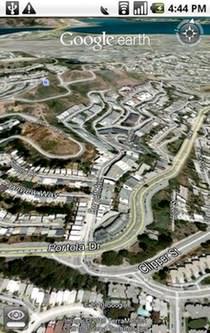 گوگل ارث آندروید Google earth android