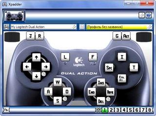 Xpadder انجام تمام بازیها با joystick