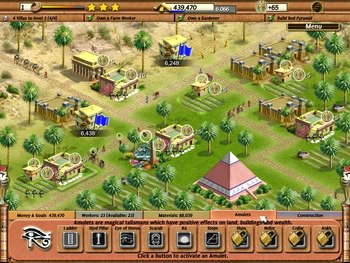 بازی کم حجم download Empire Builder Ancient Egypt