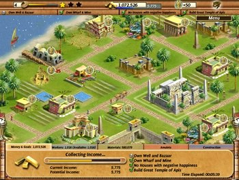 بازی کم حجم game Empire Builder Ancient Egypt