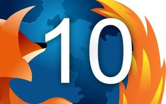 فایرفاکس Firefox 10