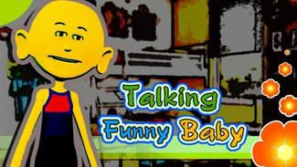 کودک سخنگوی بامزه Talking Funny Baby