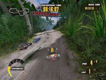 دانلود بازی Extreme Jungle Racers