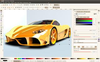 طراحی برداری Inkscape وکتور