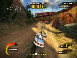 بازی اتومبیل رانی Jungle Racers