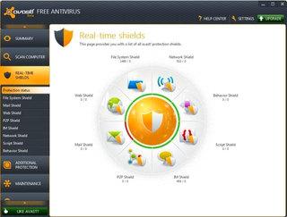 دانلود آنتی ویروس رایگان avast! Free Antivirus