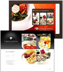 قالب سایت رستوران Restaurant Website Template