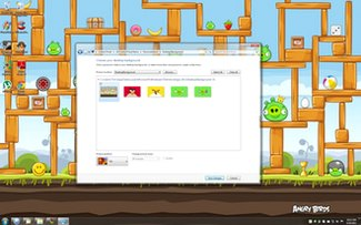 تم پرندگان خشمگین Angry Birds Windows 7 Theme