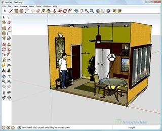 طراحی سه بعدی Google SketchUp
