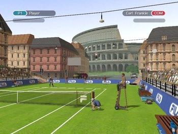 بازی کم حجم تنیس Tennis