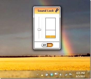 کنترل خودکار صدا Sound Lock