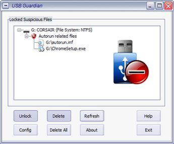 آنتی ویروس فلش مموری USB Guardian