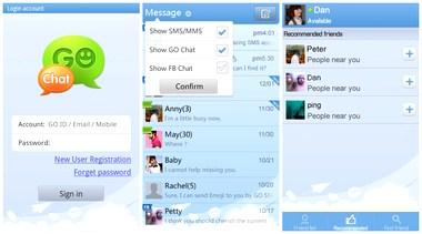 مدیریت و ارسال پیامک در آندروید GO SMS Pro