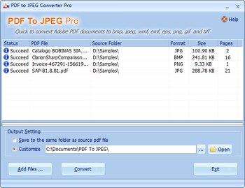 تبدیل PDF به عکس PDF To JPEG