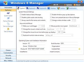 مدیریت ویندوز هشت Windows 8 Manager