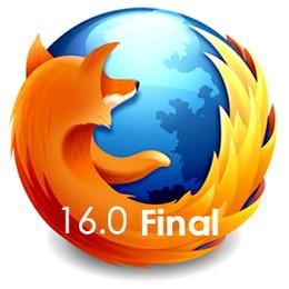نسخه نهایی فایرفاکس Mozilla Firefox 16 Final