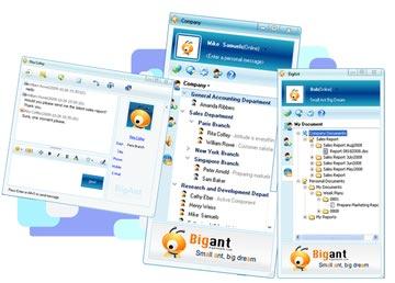 مسنجر شبکه داخلی و محلی BigAnt Office Messenger