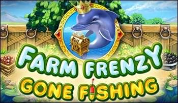 بازی ماهیگیری Farm Frenzy Gone Fishing