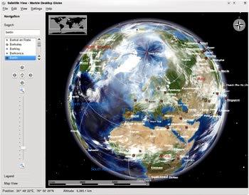 اطلس جهان Marble - Desktop Globe