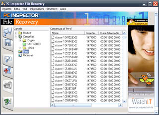 بازیابی اطلاعات هارد دیسک PC Inspector File Recovery