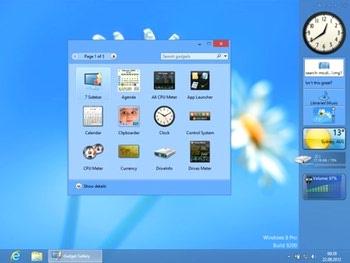 گجت های کاربردی ویندوز 8 WIN 8 GadgetPack