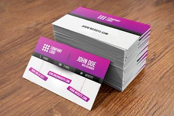 کارت ویزیت آماده Web Designer Business Card