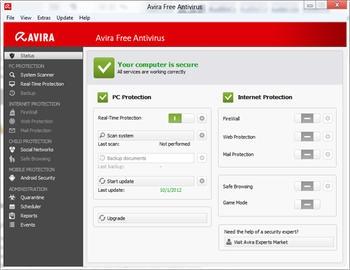 نسخه جدید آنتی ویروس رایگان Avira Free Antivirus