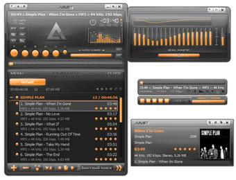 پلیر پخش فایلهای صوتی AIMP
