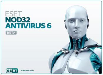 آنتی ویروس نود32 ESET NOD32 Antivirus 6 Beta