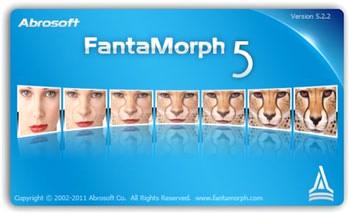 برنامه ساخت انیمیشن تغییر چهره FantaMorph Deluxe
