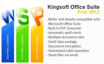 بسته آفیس رایگان Kingsoft Office Suite Free