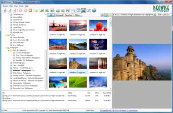 دانلود دسته جمعی تصاویر یک سایت NeoDownloader Lite