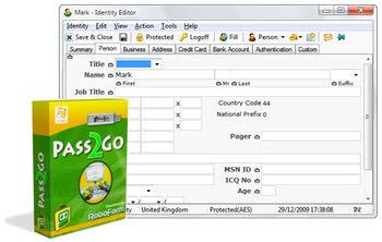 پرکردن تکمیل خودکار فرمهای اینترنتی RoboForm2GO
