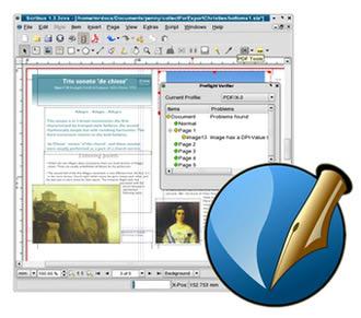 نرم افزار صفحه بندی Scribus
