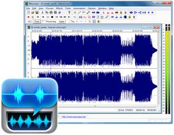 برنامه ضبط صدا Wavosaur