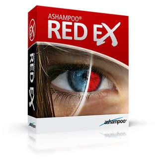 از بین بردن قرمزی چشم در تصویر