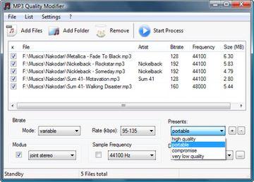 بهبود کیفیت فایل صوتی