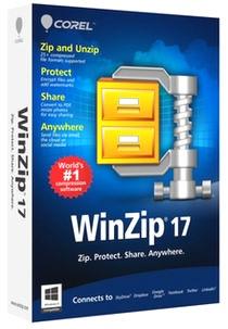 دانلود نسخه جدید وین زیپ WinZip 17