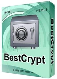 پنهان کردن فایلها و پوشه ها Jetico BestCrypt