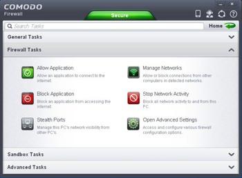 دانلود فایروال کومودو Comodo Firewall 2013