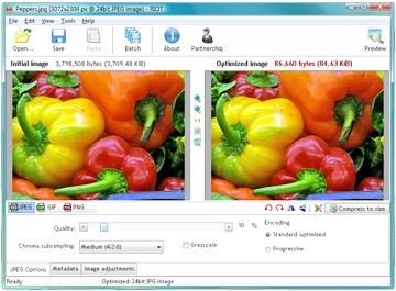 بهینه سازی تصاویر وب