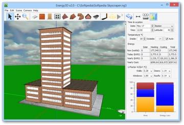 مدل سازی Energy3D سه بعدی