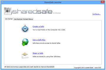 رمزگذاری فایلها SharedSafe