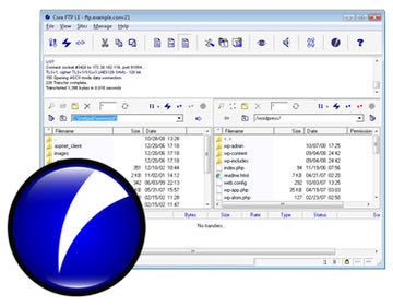 Core FTP LE برنامه کار با ftp