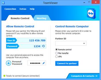 برنامه تیم ویور TeamViewer
